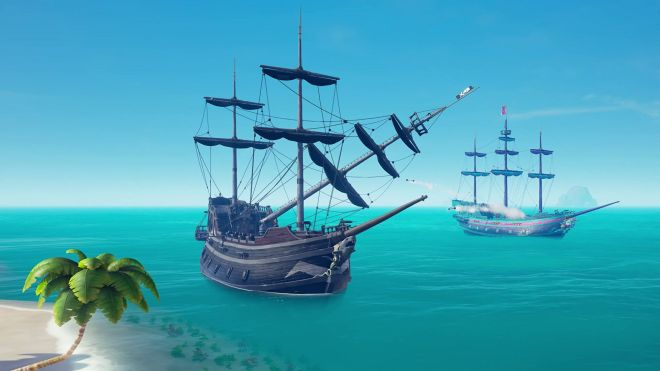 sea-of-thieves-chainshot-b The Electronic Wireless Show Podcast episode 138: the best water in games special | Rock Paper Shotgun