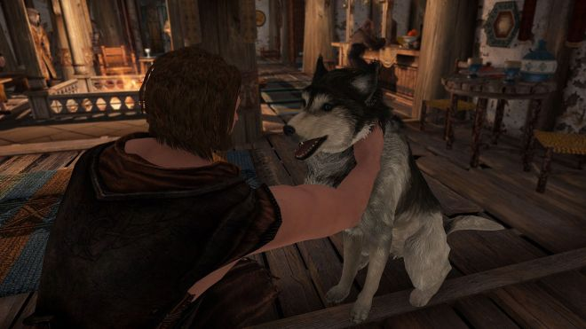 skyrim%20mod%20pet%20the%20dog You can now pet the Dragonborn's best friend with this Skyrim pet the dog mod | Rock Paper Shotgun