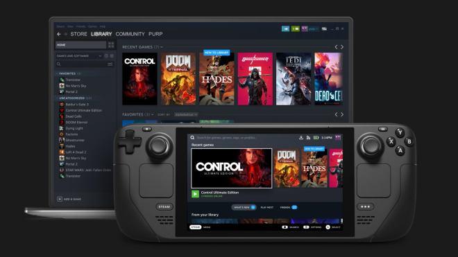steam-deck-laptop Valve are taking measures to stop scalpers nabbing Steam Decks   Rock Paper Shotgun
