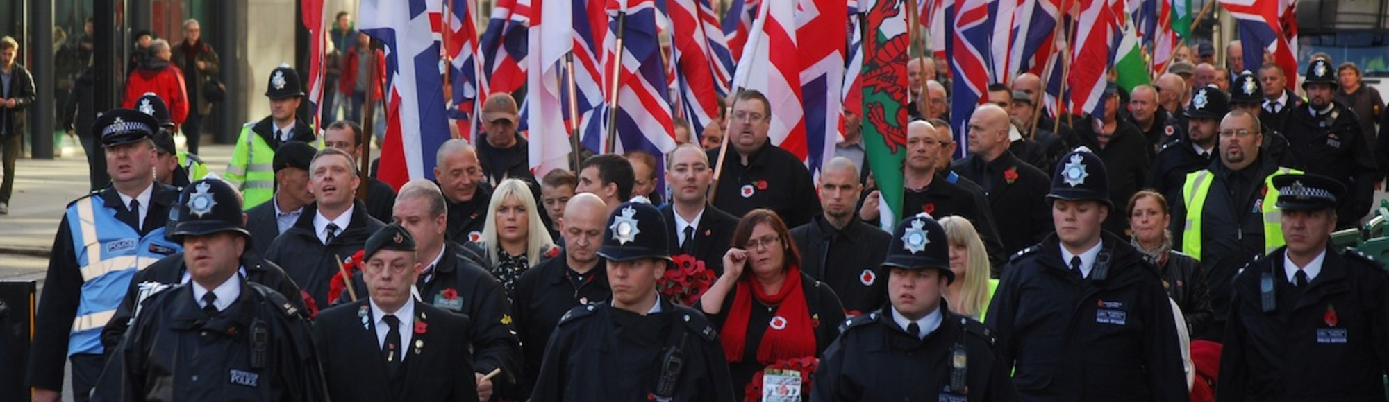 English Neo-Nazis Marched Through London on Remembrance Sunday