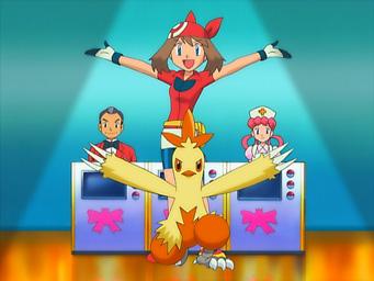 pokemon 8. sezon May