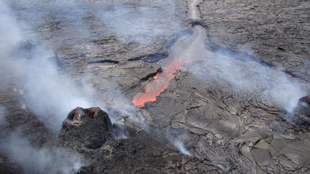 US Volcano Update Kilauea Cleveland and the Axial