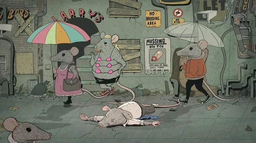 Happiness: la animación como crítica social 10