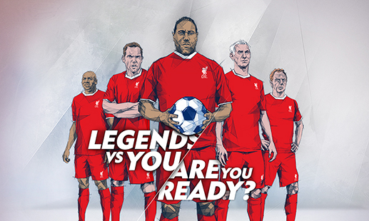 Ready to take on the LFC legends?