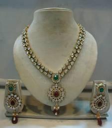 Buy Design no. 10b.1468....Rs. 3250 necklace-set online