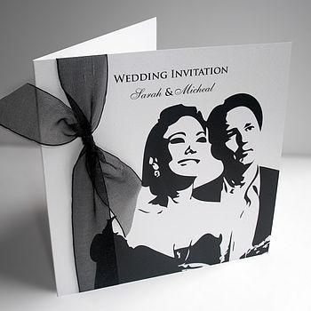 Blue Lights Photography Monday Mayhem Wedding Invitations Under