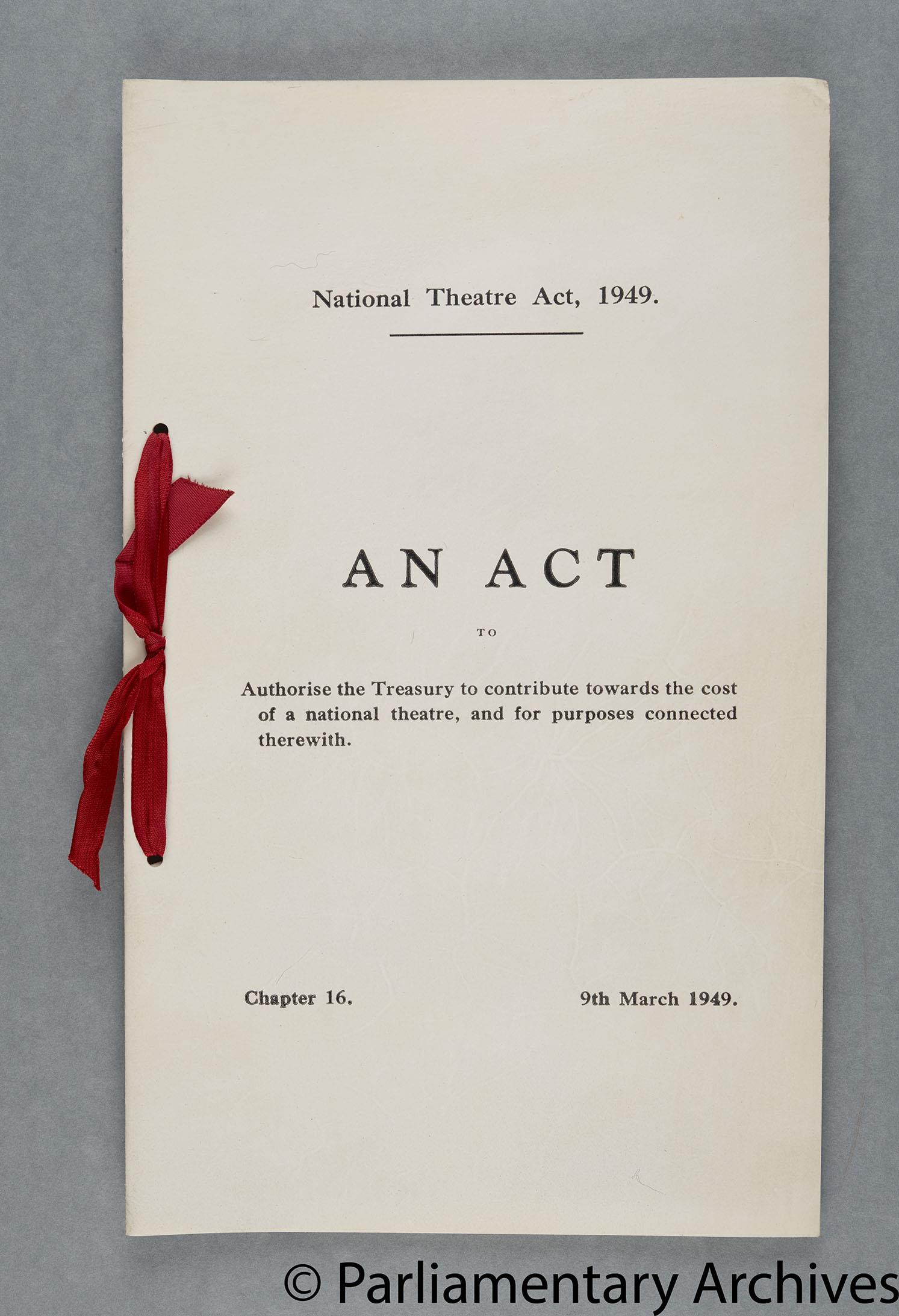 National Theatre Act