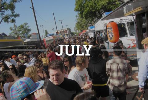 La Summer Festival Calendar 2015 Music Beer Food