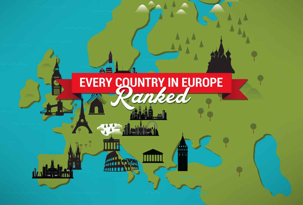 Best and Worst Countries in Europe Ranked   Thrillist