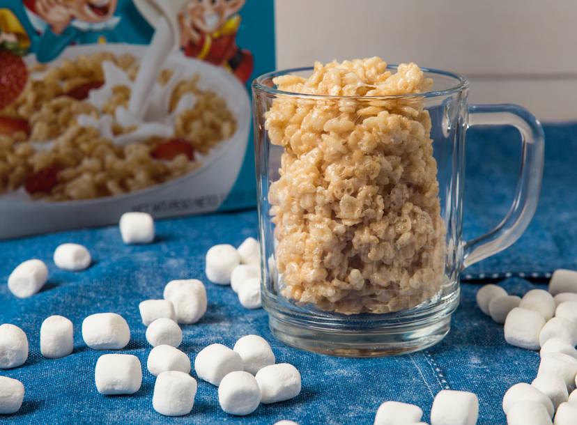 single serve rice krispies treat recipe