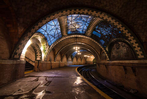 Image result for City Hall Ghost Subway Station in New York (United States)