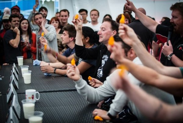 Spicy Food Challenges: World's Hottest Pepper-Eating Contests