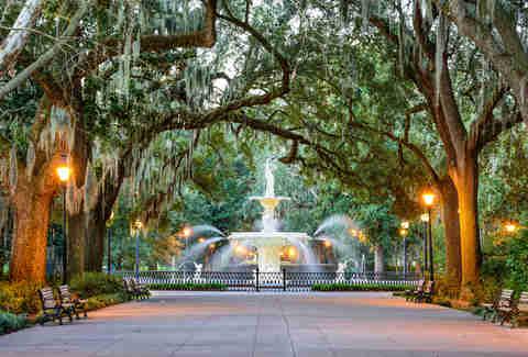 Savannah, Georgia Forsyth Park