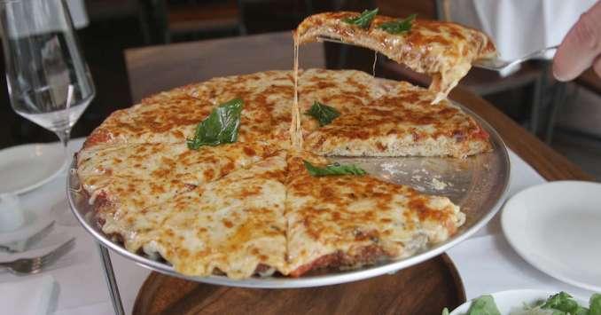 Quality Italian Chicken Parmesan Pizza Merges Italian Food