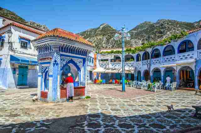 Chefchaouen, Morocco.