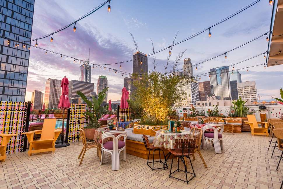 Best Rooftop Bars In Los Angeles: Rooftop Bars And Pools