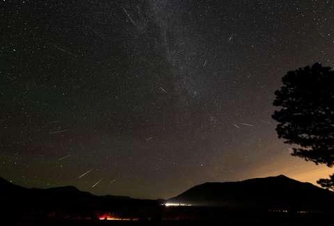 Ursid Meteor Shower 2018