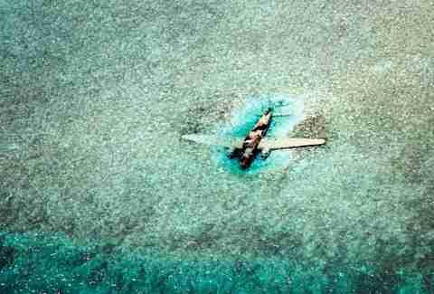 plane wreck bahamas