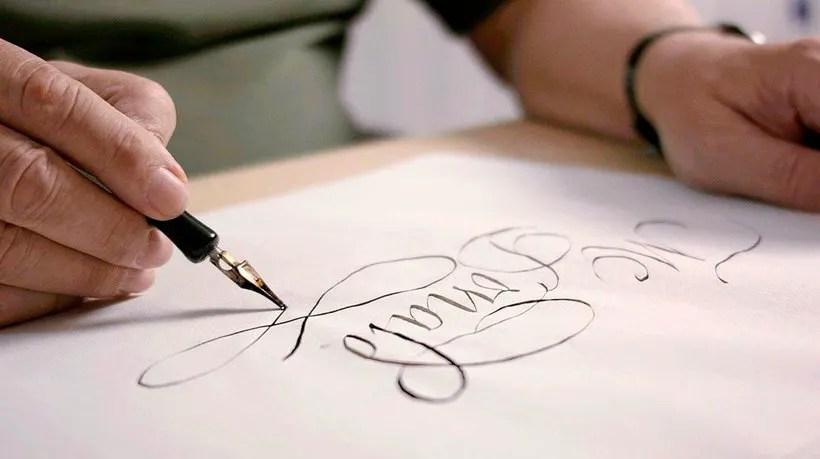 Lettering, caligrafia y tipografía, ¿conoces las diferencias? 2