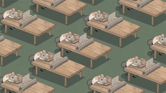 Happiness: la animación como crítica social 11
