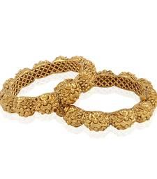 Buy Sophisticated Intricate Designer Antique Bangle bangles-and-bracelet online