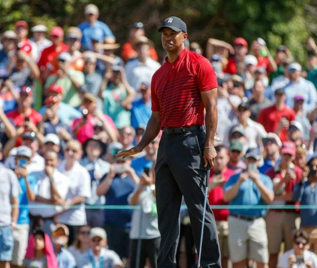 The Tiger Effect On Full Display As Woods Transforms Pga Tour