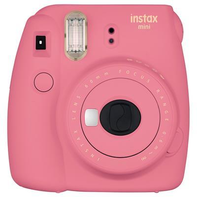 Fujifilm Instax Mini 9 0.6 MP Instant Camera (Flamingo Pink)