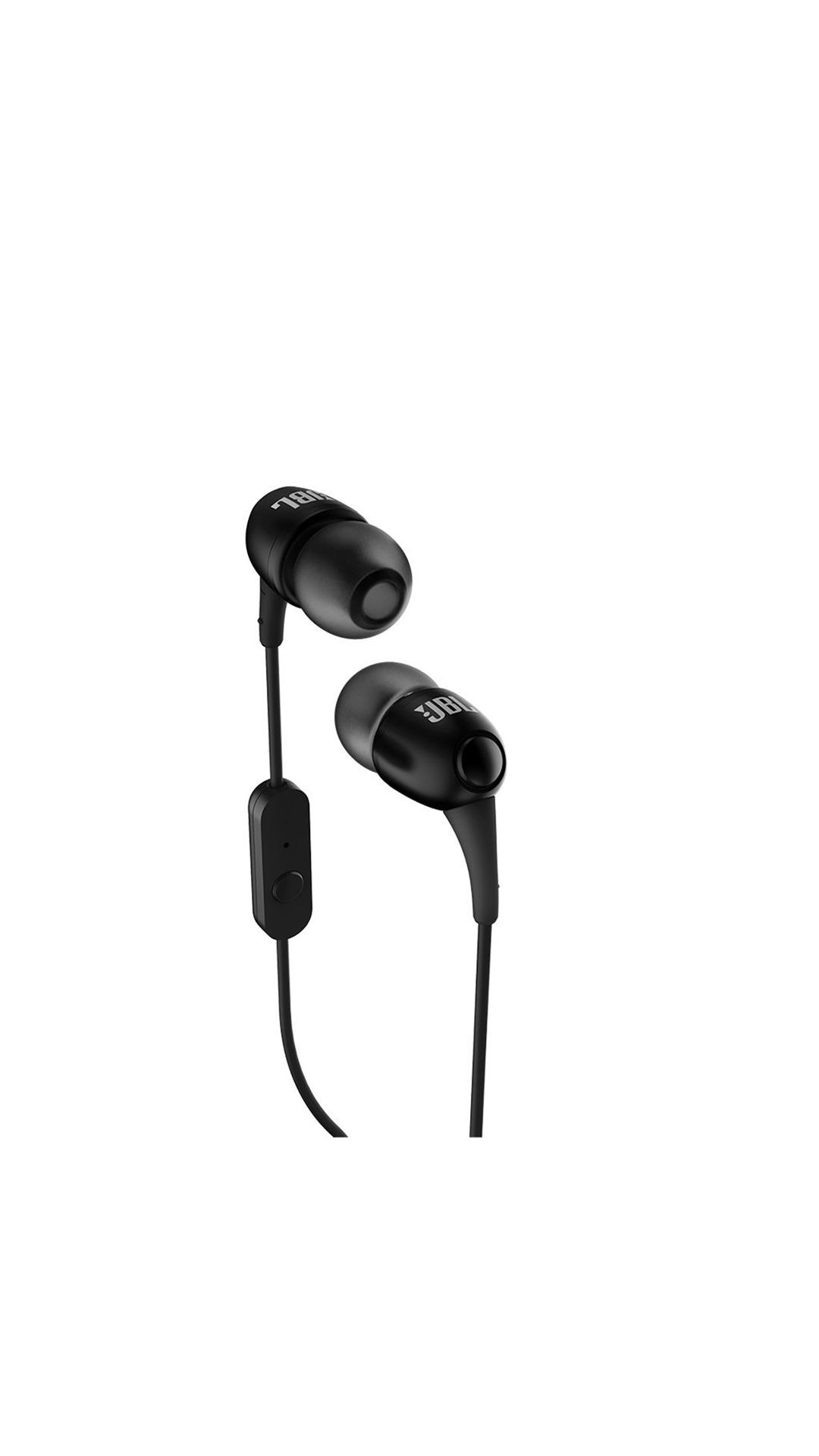 Buy Jbl T100a Wired Earphone With Mic Black Online At