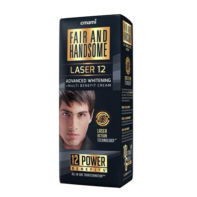 Fair And Handsome LASER 12 Advanced Whitening Multi-Benefit Cream 60 gm