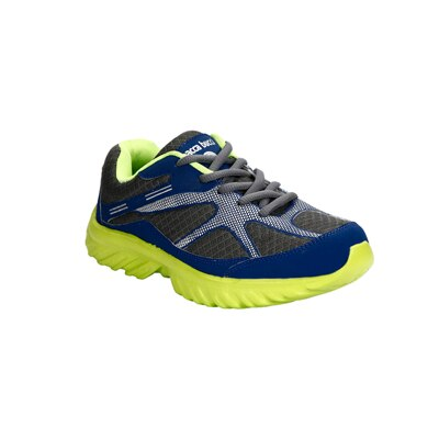 Bacca Bucci Blue And Green Sport Shoes (Size-6)