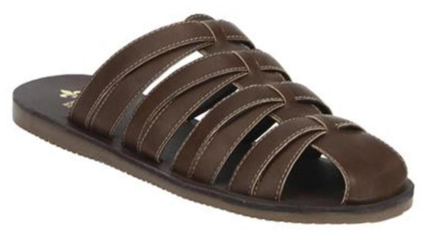 Bond Street by Red Tape Men Brown Slip On Sandals-RSP0252 BRN-10