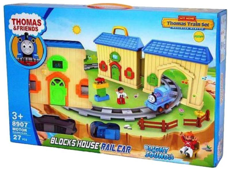 crazy toys Thomas and Friends Light House Train Set