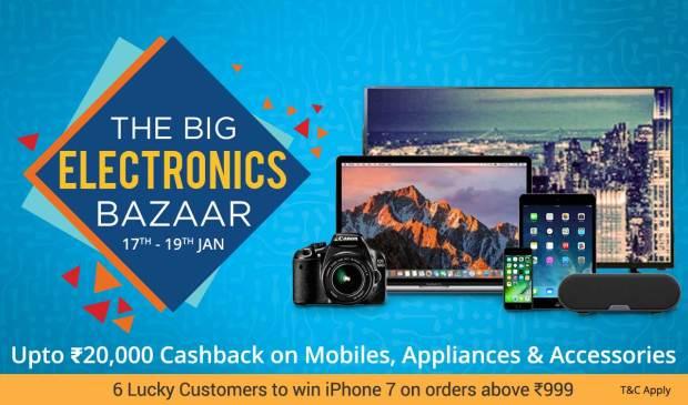 Paytm The Big Electronics Bazaar
