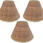 Buy Round 6 Inch Cane Lamp Shade For Hanging Light Three Pieces Set Online At Low Prices In India Paytmmall Com