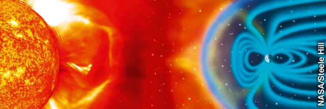 Η αόρατη μαγνητική ασπίδα της γης