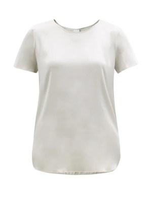 Max Mara Leisure - Cortona T-shirt - Womens - Light Grey