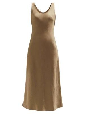 Max Mara Leisure - Talete Dress - Womens - Dark Beige