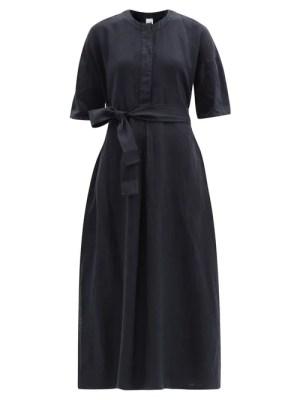 Max Mara Leisure - Arda Dress - Womens - Dark Navy