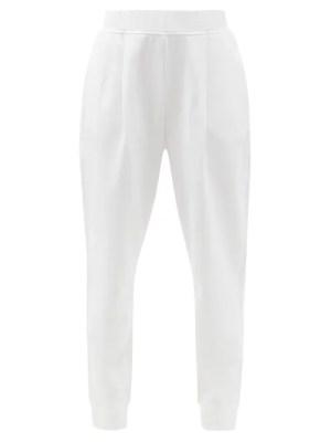 Max Mara Leisure - Bric Track Pants - Womens - White