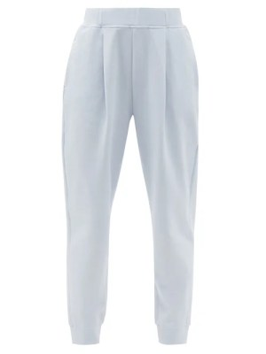 Max Mara Leisure - Bric Track Pants - Womens - Light Blue