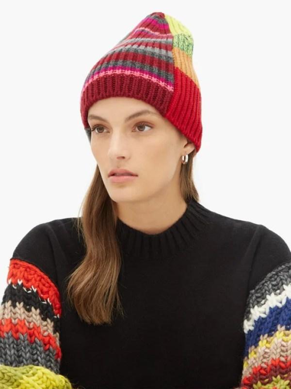 knitGrandeur: Mixed Gauge Stripes
