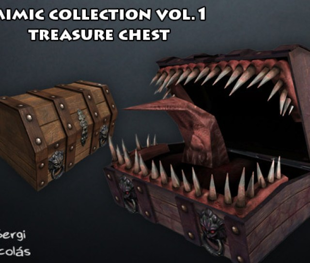 Mimic Collection 1 Treasure Chest