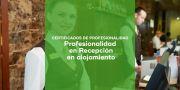 Certificado de Profesionalidad en Recepción en alojamiento