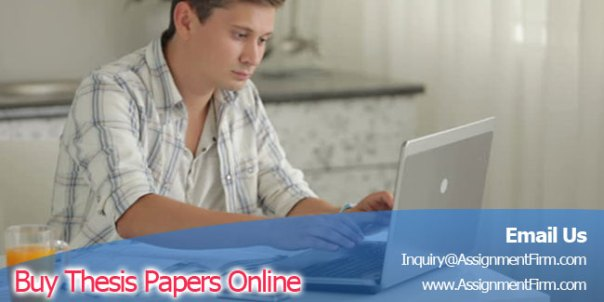 Buy Thesis Papers Online At Assignment Help Firm