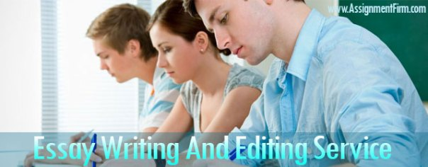 Essay Writing And Editing