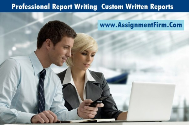 Professional Report Writing Services Cheap  Custom Written