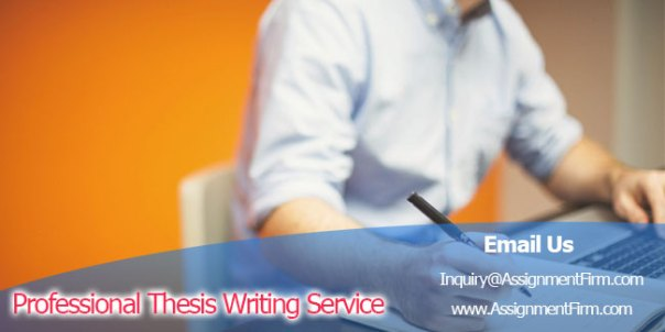 Professional Thesis Writing Service
