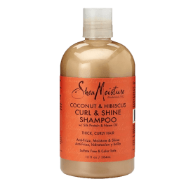 Shea Moisture Coconut & Hibiscus Curl and Shine Shampoo 384ml
