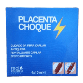 Placenta Choque Real Natura 4x10ml