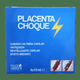Placenta Choque Real Natura 4x10ml